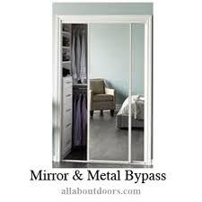 metal bypass door hardware