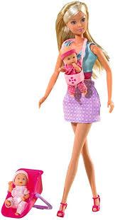 Simba Steffi Love Baby Sitter: Toys & Games - Amazon.com