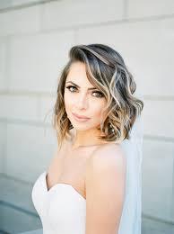 17 Wedding Hairstyles For Medium Length Hair Brides