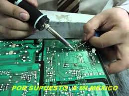 Reparar Una TV LCD Que Se Apaga Sola « SoloelectronicosTelevision Oki Se Oye Pero No Se Ve