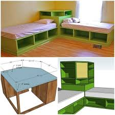 how to make a twin bed. Interesting How How To Make DIY Twin Corner Bed With Storage Step By Tutorial  Instructions Throughout To Make A Twin Bed O