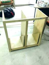 wooden trash cabinet tilt out garbage can double wooden trash wood kitchen cabinet white build a wooden trash