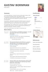 Backend Developer Resume