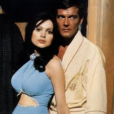 Bond girl Madeline Smith recalls the late Sir Roger Moore 'wowing' her with  his presence during bedroom scene - Mirror Online
