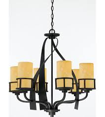 quoizel ky5006ib kyle 6 light 28 inch imperial bronze chandelier ceiling light in erscotch onyx shade naturals