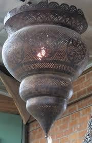 beautiful antique moroccan chandelier