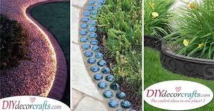 creative garden edging ideas 20