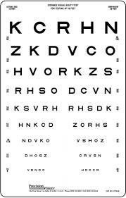 Dmv Eye Chart Distance 23 Correct Snellen Chart Pdf 20 Feet