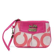 Coach Swingpack In Signature Medium Pink Crossbody Bags FDY