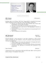 Resume Cv Example Haadyaooverbayresort Com
