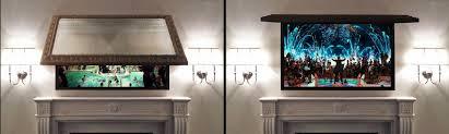 mirror tv cover. hidden tv! mirror tv cover