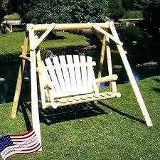 wooden swing plans wooden swing set