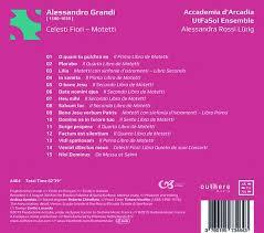 Alessandro Grandi: Motetten - Celesti Fiori (CD) – jpc