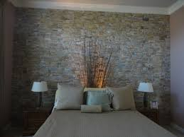 Mosaic/Tile Wall Modern Bedroom