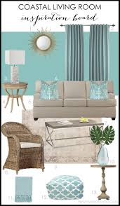 Turquoise Living Room Turquoise Coastal Living Room Design