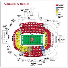 Alabama Florida State Seating Chart Nc State Carter Finley Stadium Seating Chart