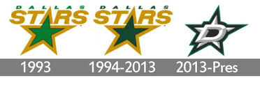 Logos With Stars Meaning Dallas Stars Logo And Symbol History And Evolution