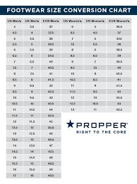 Propper Size Chart