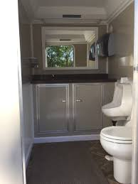 Bathroom Trailer Rental Amazing Restroom Trailers Portable PortaJohns Carmichaels PA