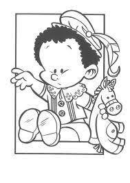 Baby Piet Kleurplaat Kleurplaten Baby Snoopy En Color