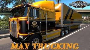 American Truck Simulator May Trucking Company