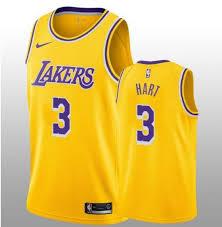 Lakers Josh 3 - Hart Angeles Icon Los Men's Swingman Edition 2019 Gold Jersey