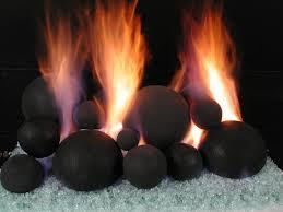 do firestones fireshapes fire produce as much heat as fireglass