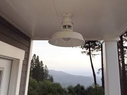 featured customer industrial flush mount pendant a stylish update for ca home