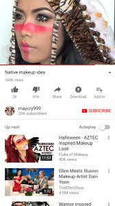 hi today i am making a call out post for all the non native women making native inspired makeup videos on you