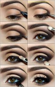 grab your black eyeliner pencil draw a line starting at the middle of your eyelid on the bottom right above your lashes and create a backwards c