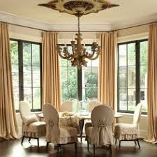 french dining room french dining room with round table and slipcovered chairs frenchdiningroom