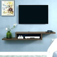 component shelf corner wall mount with shelf conceal cable box wall mo tv