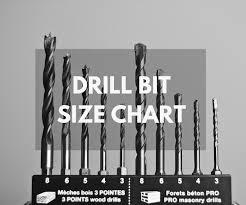 Irwin Drill Bit Size Chart Bite Size Guide Best Drill Bit Size Chart The Saw Guy