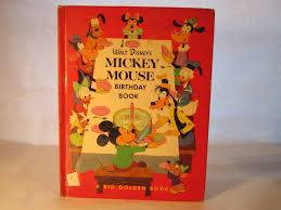 Mickey Mouse Birthday Book ...