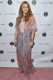 on balance though this all seems pretty peak drew to me she loves a pretty demi caftan and she gave it a statement bracelet i could as easily picture