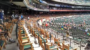 it s difficult to find a more impressive spot at comerica park than the premium tigers den seats located just above the lower level between the dugouts