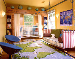 decorated bedrooms design. Cheerful Interior Design Ideas For Kids Room Themes : Exquisite Atlas World Furry Rug In Decorated Bedrooms