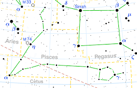 Pisces Constellation Star Chart Constellation Pisces The Constellations On Sea And Sky