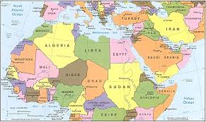 north africa map map of northern africa printable north africa map