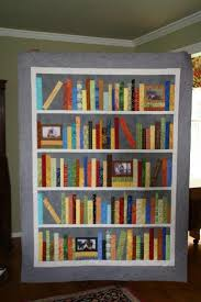 Personalized Bookshelf Quilt: Wedding Bookshelf Quilt - Love in ... & This quilt was challenging for me but fun to make. It turned out special  just like my daughter-in-law. Adamdwight.com