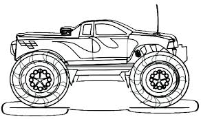 Monster Truck Coloring Pages Pdf Monster Truck Coloring Pages Free