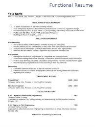 Sample Functional Resume Filipino Portal