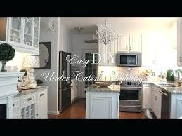 easy under cabinet lighting. Under Cabinet Lighting Placement Front Or Back Easy Kitchen .