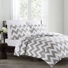 com echelon home chevron duvet cover set fullqueen image on incredible all white bedding for ztofpbovl sl