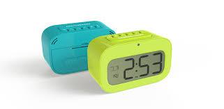 multi function small digital desk clock