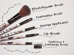 start with basics careline brush set 5pcs review affordable makeup brush set