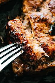 honey garlic baked pork chops recipe