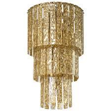 italian venetian murano glass chandelier mazzega around 1960s