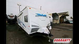 2007 weekend warrior fsc 3200 toy hauler travel trailer video tour guaranty