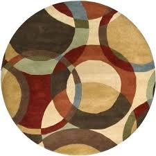 6 feet round rugs forum chocolate 6 feet round area rug at 6 foot 6 foot